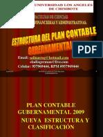 Estructura Del Plan Contable Gubernamental Ppt