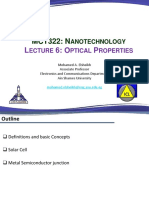 Lecture 06 - Optical Properties