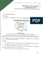 Capítulo 9 - Tipologia Das Funções (Inversa)