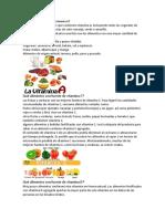 Qué Alimentos Contienen Vitamina A
