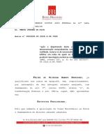 Defesa do jornalista Felipe de Oliveira