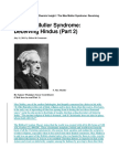 The Max Muller Syndrome