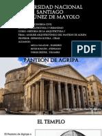 Analisis Arquitectónico Del Panteon de Agripa