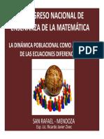 III Congreso Nacional de Enseñanza de La Matemática - Copia