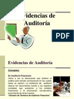 Evidencias de Auditoría