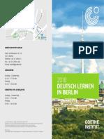 Deutsch Lernen in Berlin 2018