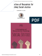 A Collection of Resources for Teaching Social Justice _ Cult of Pedagogy