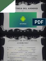 La Historia Del Android