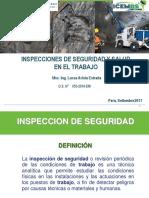 Clase de Inspecciones de Seguridad y Salud en El Trabajo Domingo 10 Setiembre