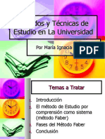 y1 Fmetodosytecnicasdeestudioenlauniversidad 090625153737 Phpapp01 (1)