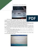 Cara Install Windows 7 Di Asus X455L