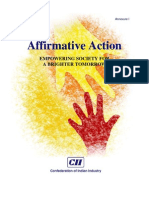 Report on Affirmative Action