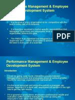 Performance Management & EDS