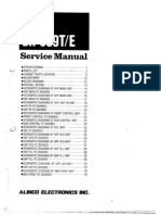 Alinco DR-599T Service Manual