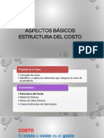 Tema 02 - Estructura Del Costo