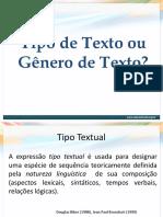 Arquivo 2 - Tipo Ou Gênero de Texto