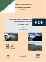 el modelo de la reserva de la biosfera e instrumentos para su utilizacion sostenible el caso de chile.pdf