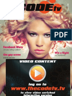 www.thecodetv.tv Issue 1 Malta lifestyle video mag!