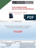 Comunicaciones de Emergencia Normatividad 07set17