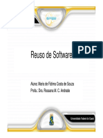 Introducao Reuso de Software 2018