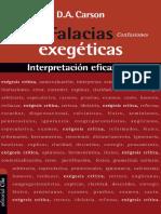 Falacias Exegéticas - D.A. Carson.pdf