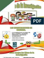El Origen de La Investigación Diapositivas Tutoria 2 (1)