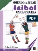 Aprendiendo a Jugar Voleibol en La Escuela
