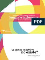 Manual Lenguaje Incluyente