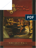 L5R 3rd Ed - Masters of Magic (OCR)