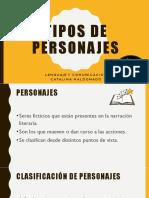 Tipos de Personaje