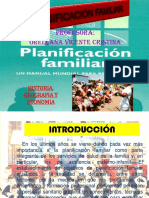 Diapos. Planificación Familiar