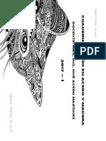 Cuaderno Diseño en Acero y Madera 2017