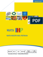 Warta IHP Balai Besar Industri Agro  Vol 33 No 2  Tahun 2016