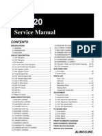 Alinco DR-620 Service Manual