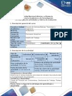 Guía de actividades y rúbrica de evaluación - Fase 3. Estudio de Tiempos