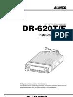 Alinco DR-620T Instruction Manual