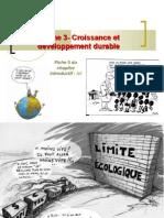 thème 3 croissance développement durable  2010-2011