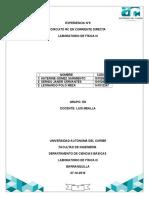 Informe 9 Circuito Rc en Corriente Directa