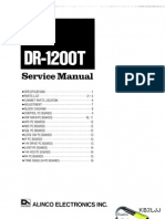 Alinco DR-1200T Service Manual