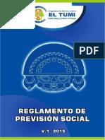Reglamento de Prevision Social