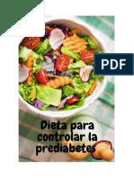 Dieta para controlar la prediabetes.pdf