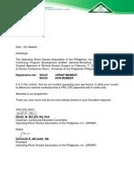 ORNAP Request Letter 020918