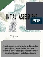 004.Initial Assessment Management 1