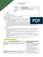 EDU 218 Lesson Plan
