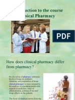 Intro to Clinical Pharmacy