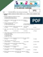 Soal IPS Kelas 4 SD Bab 4 Keanekaragaman Suku Bangsa Dan Budaya Dan Kunci Jawaban (Www.bimbelbrilian.com)