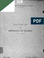 Destilacion de La Madera