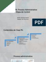 Clase 6- P.a. Etapa Control