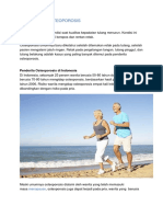 Pengertian Osteoporosis