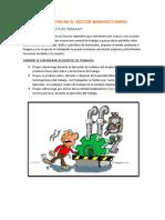 Accidenten en El Sector Manufacturero
